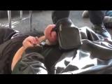 В Сети появилось видео жесткого задержания крымско-татарских активистов