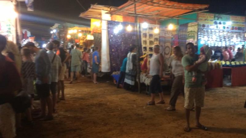 Night Bazar 2017 Anjuna GOA