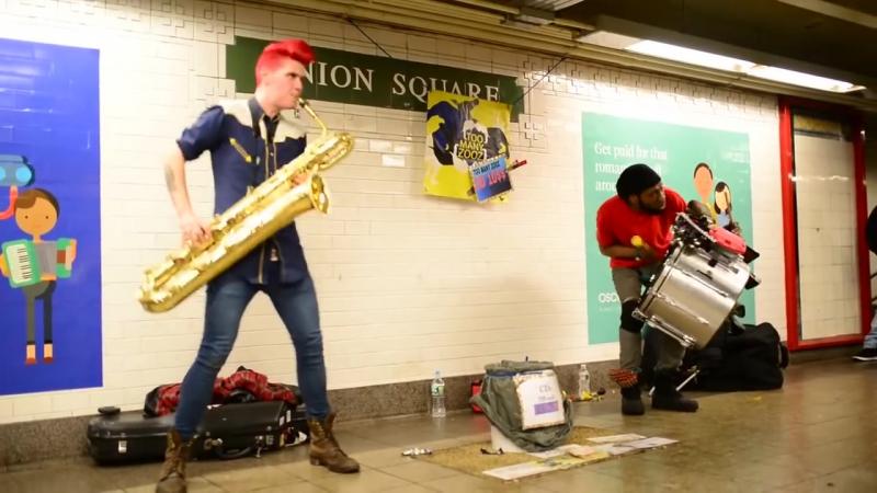 Саксофонист Уровень - БОГ - Too Many Zooz Saxophonist Level - GOD