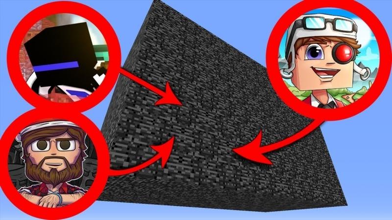 [Demaster] ВЫЖИВАНИЕ В КОРОБКЕ ИЗ БЕДРОКА В МАЙНКРАФТЕ! Minecraft Survive in box