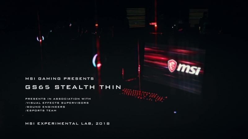 MSI GS65 Stealth Thin