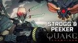 Quake Champions — видеоролик о чемпионе Strogg & Peeker