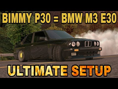 Bimmy P30 Ultimate Setup Test Drive! (BMW M3 E30 ultimate) CarX Drift Racing