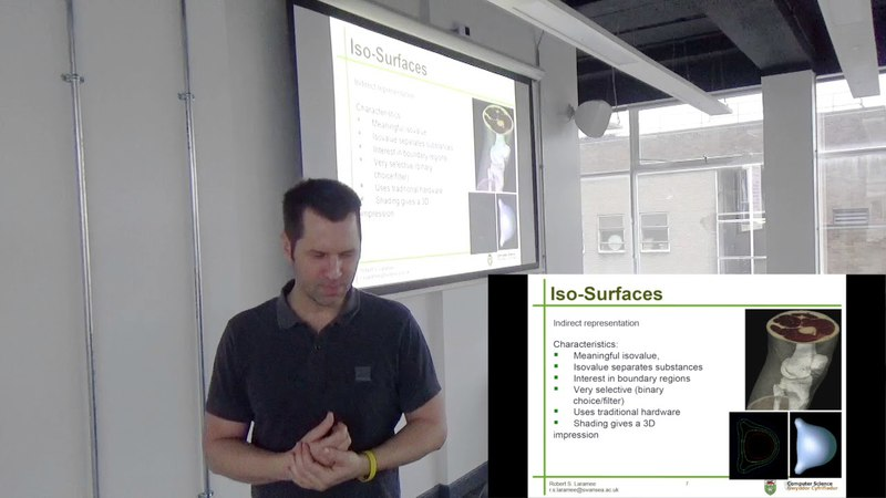 Visualization Lecture 9.3. Iso-values, Iso-contours, Iso-surfaces, and Marching Squares
