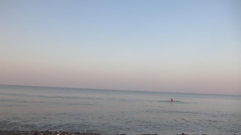 Я купаюсь в Средиземном море