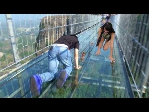 THE MOST SCARIEST AND DANGEROUS BRIDGES IN THE WORLD!TOP 5