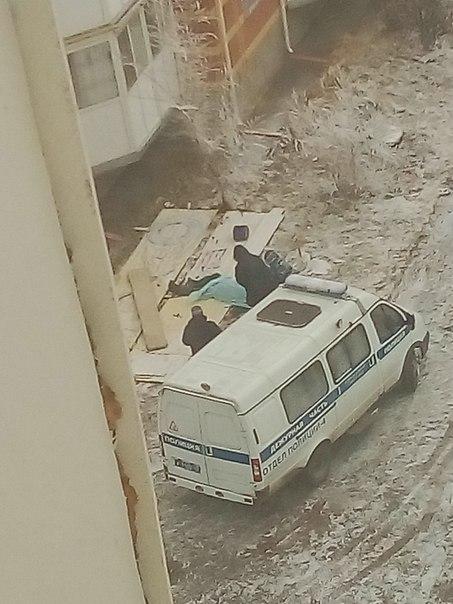 В Кургане мужчина разбился насмерть, упав со строительных лесов
