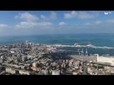Хайфа и Бахайские сады с высоты полета - зрелище потрясающее! Haifa - DJI Phantom