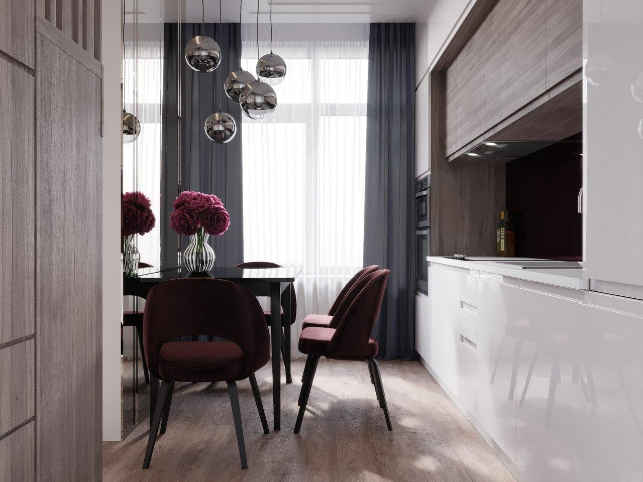 Квартира в Москве от студии «А Б».