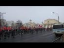 Реальная численность сторонников Грудинина на митинге за честные и чистые выборы 2018-03-10 на 11:03:39