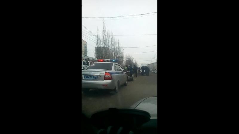 ДТП г . Стерлитамак ул Артема нексия и автобус