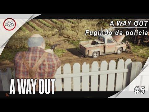 A Way Out, 5 Jogando com Vanderson Terrorista @1080p (30ᶠᵖˢ) FULL HD ✔ PT-BR