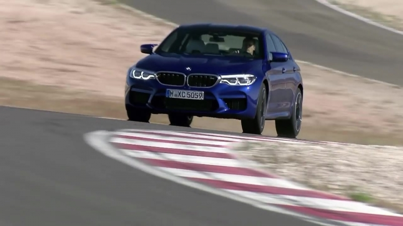 BMW M5 (F90) on Race Track