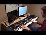 Just Blue - Space  Didier Marouani - Piano Cover  Sheet