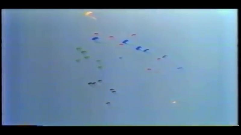 церимония открытия олимпийских игр в Сеуле 1988 г