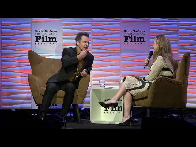 SBIFF 2018 Sam Rockwell Discusses Meeting George Clooney Collinwood Confessions