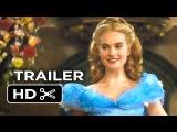 Cinderella Official Trailer #1 (2015) - Helena Bonham Carter, Lily James Disney Movie HD