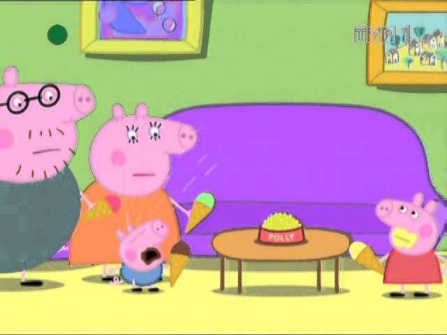 Swinka Peppa Polly na wakacjach
