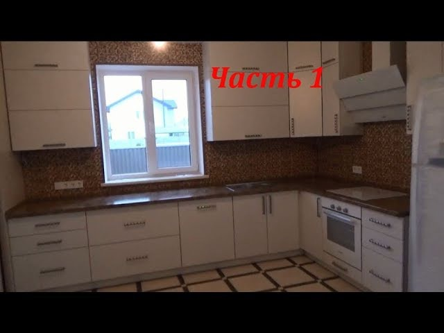 Кухня под потолок в комнате с натяжным потолком Шкаф купе в комнате с натяжным потолком Часть 1
