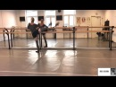 Ballet exercises. Improving à la seconde 1. Natalia Maria Wojciechowska