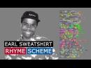 Earl Sweatshirt on Oldie Rhyme Scheme