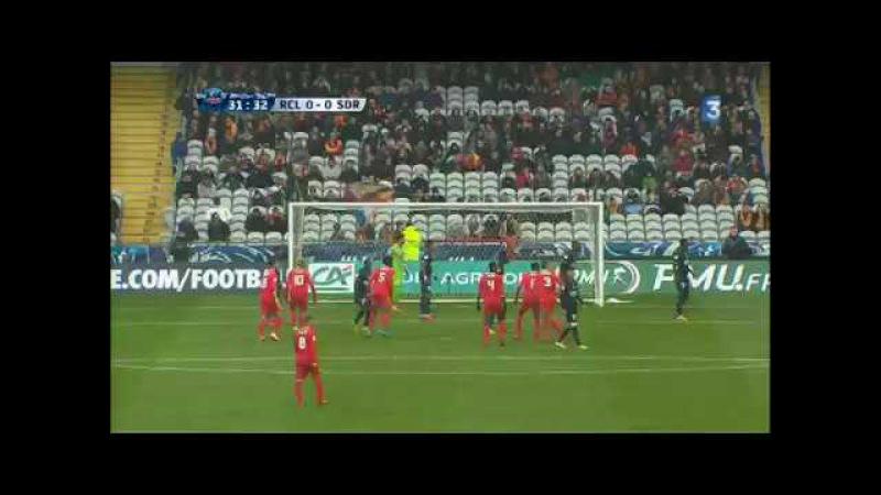 Coupe de France : 1-0 à la mi-temps pour le RC Lens face à Reims