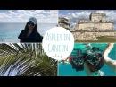 ASHLEY IN CANCUN 🏝: snorkeling, cenotes, Tulum ruins 🦎 슐로그 캔쿤 편!