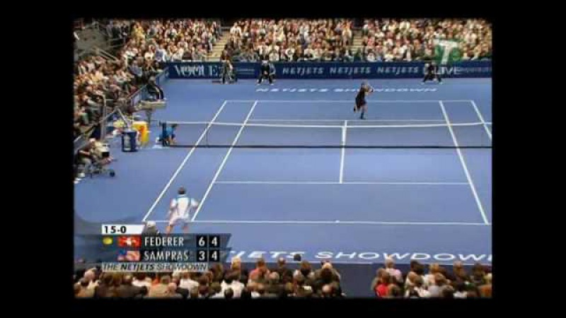 Federer vs Sampras MSG 2008