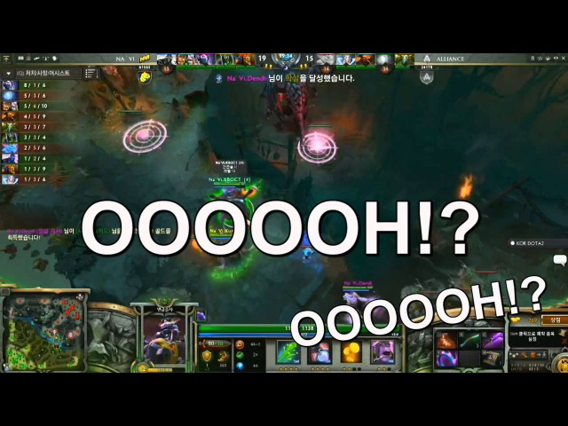 Dota2 - TI3 Grand finals : Finest moments from the Korean casters.
