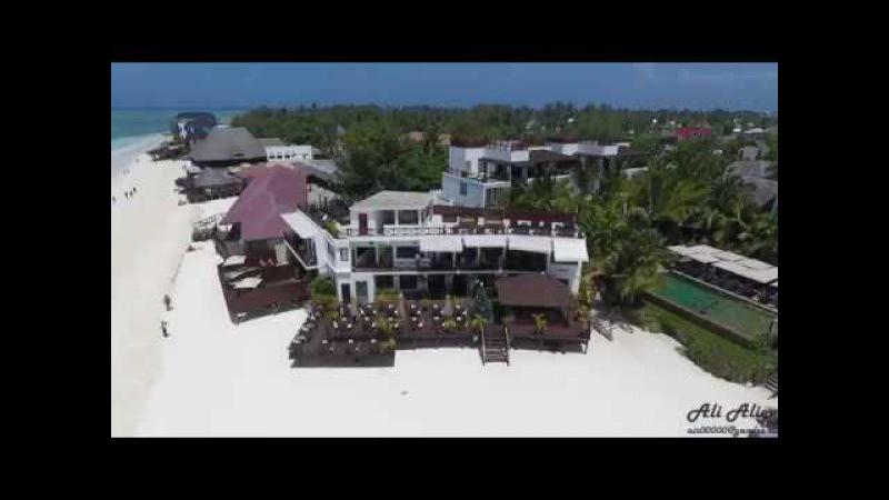 2017 Hotels Zanzibar 1, aerovideos with drone Phantom 4.