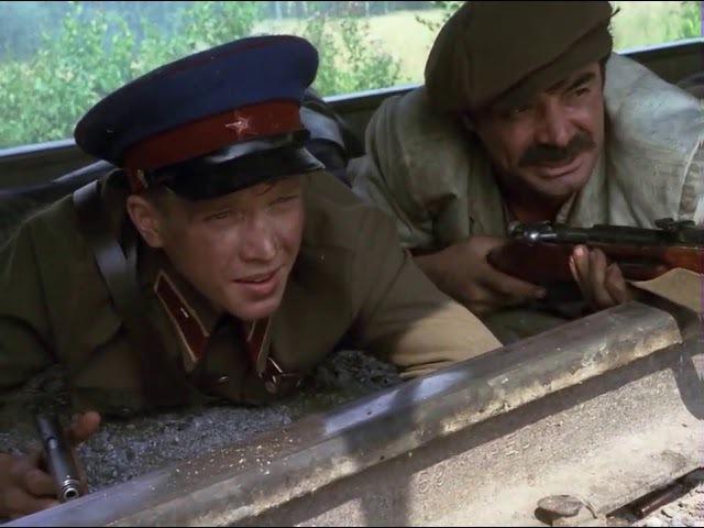 ПЕРЕД РАССВЕТОМ, Война. Молодой лейтенант НКВД конвоирует в тыл группу заключен ...