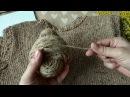 КАК ЭТО ВЯЗАТЬ Твидовый жилет с косами Обзор Расчеты на 46 размер