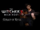 The Witcher 3 Wild Hunt - Geralt of Rivia (Soundtrack) guitar cover, Stonebridge guitar