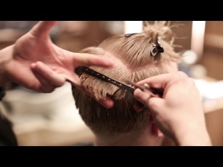 Stephen J - step-by-step Scissor/Shear Work (tutorial on how to cut +sectioning)