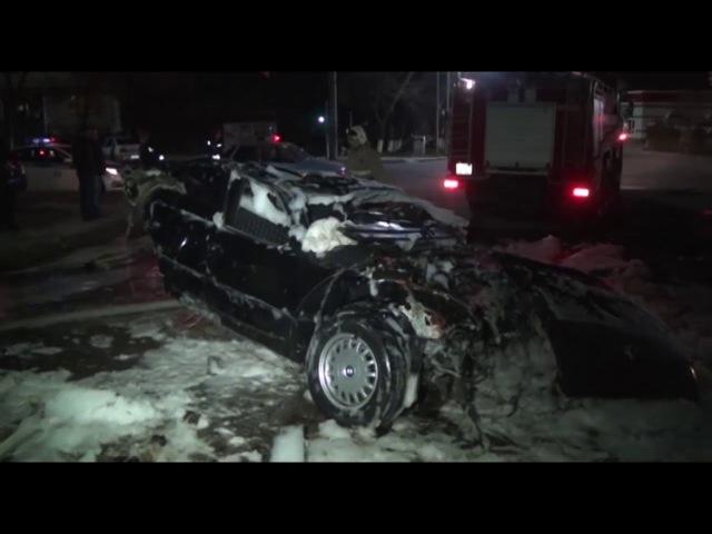 Крупное ДТП в Шымкенте / погиб 1 человек