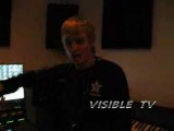 AARON CARTER, NVISIBLE, BIG ROB IN THE STUDIO FREE STYLING - YouTube