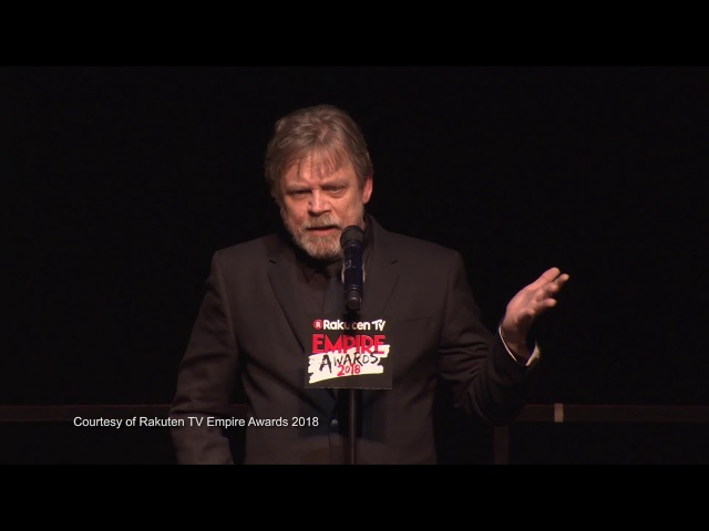 Empire Icon - Mark Hamill, 2018 Rakuten TV Empire Awards