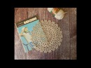 Салфетка крючком Описание из журнала моей бабушки