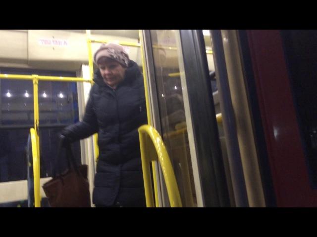 В хабаровском трамвае не вернули деньги возмущенным пассажирам, не доехавшим до своих остановок
