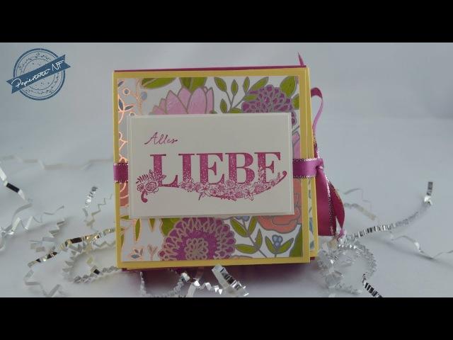 Anleitung: Geschenkbox Beste Wünsche