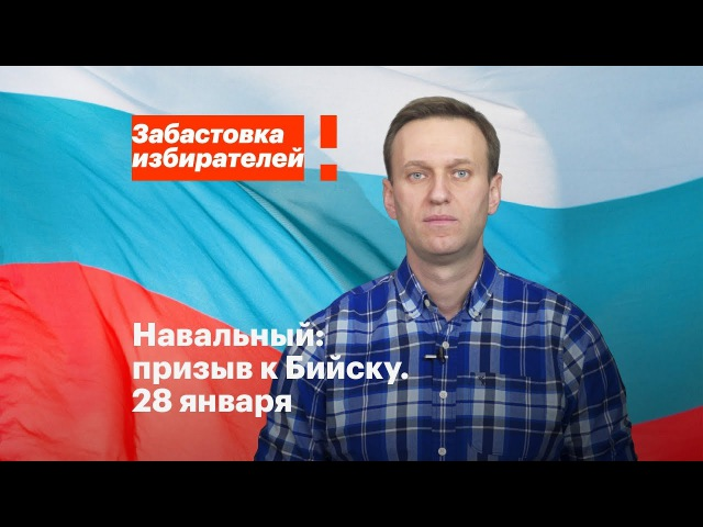 Бийск: акция в поддержку забастовки избирателей 28 января в 14:00