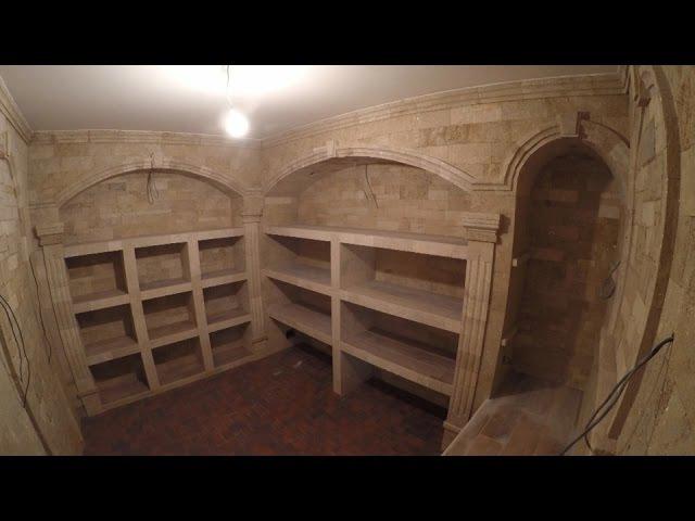 Шикарный подвал. Винный погреб в лучших традициях. Оne of the best wine cellars