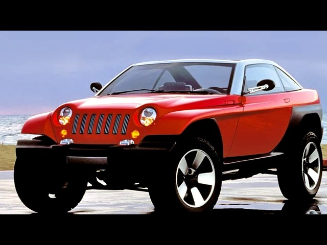 Jeep Jeepster Concept 1998