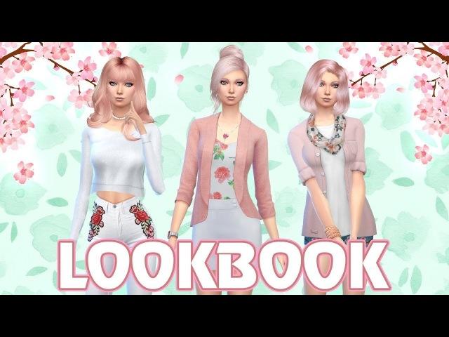 LOOKBOOK ✿ Весенний цветок ✿ The Sims 4 список модов