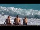 Мы в Ницце Лазурный берег Франции Тур морской волны Лето
