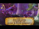 Vanilla Teldrassil Night Elf Music Night Rain Ambience (1 hour, World of Warcraft Classic)