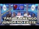FLAMENGO VS JUNIOR POLÉMICA PARA FLAMENGO JUNIOR NO EXISTE ANÁLISIS AL DETALLE 23/11/2017