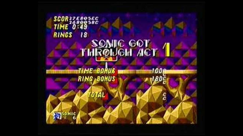 Sonic 2 - Hidden Palace Zone