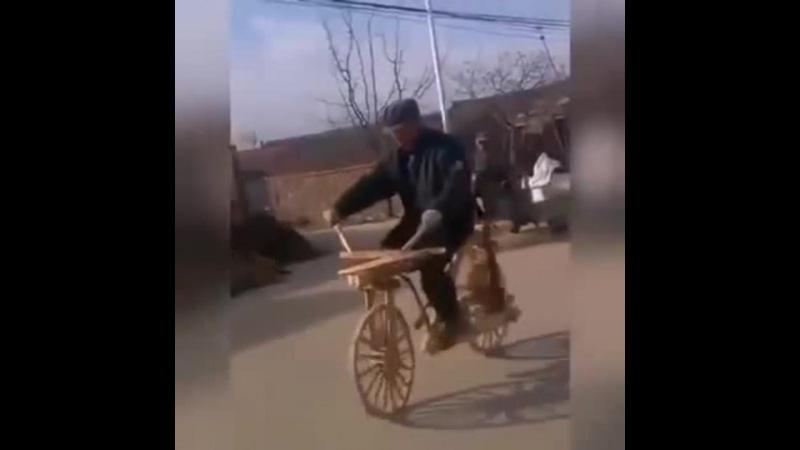 Я буду долго гнать велосипед!