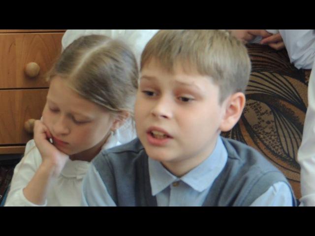 Серёгина Любовь читает детям Новый завет
